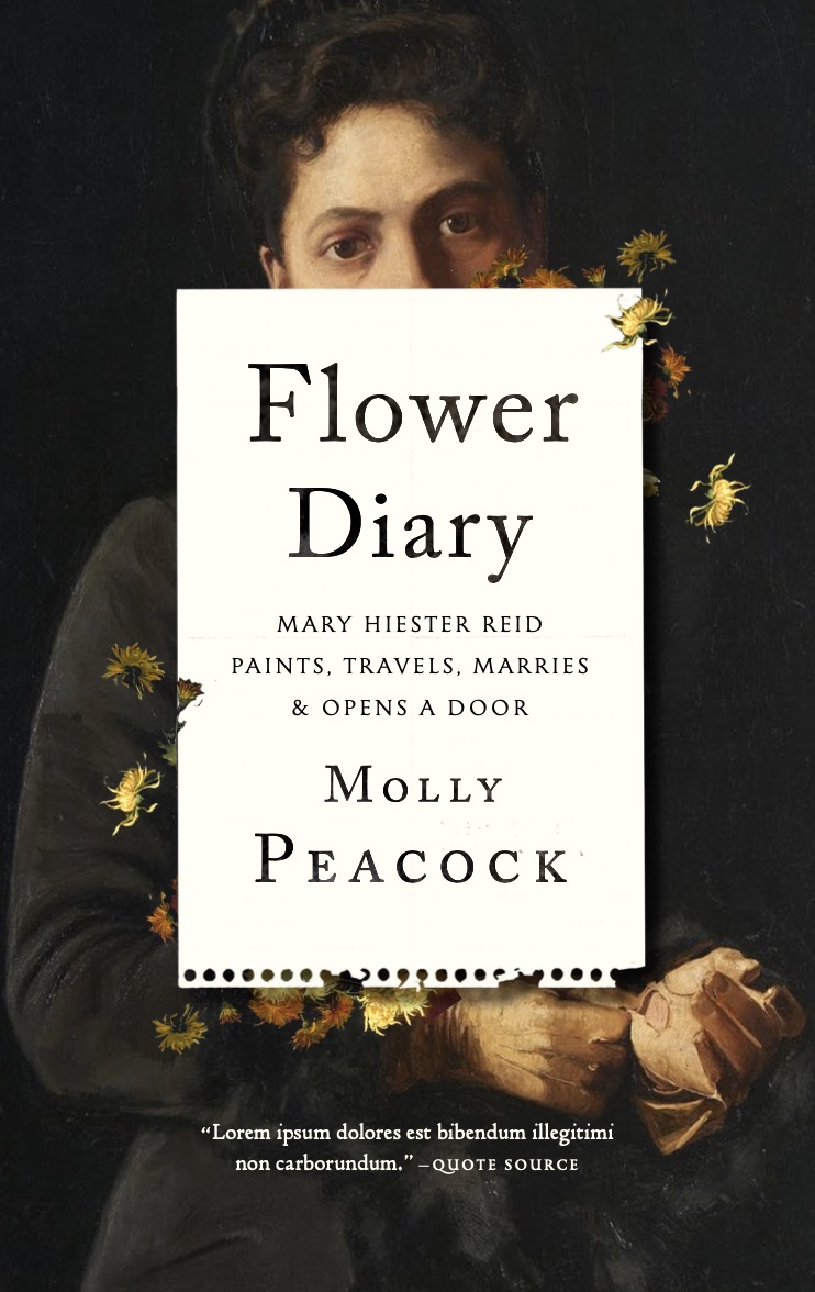 """Book Cover Image of """"Flower Diary"""""""