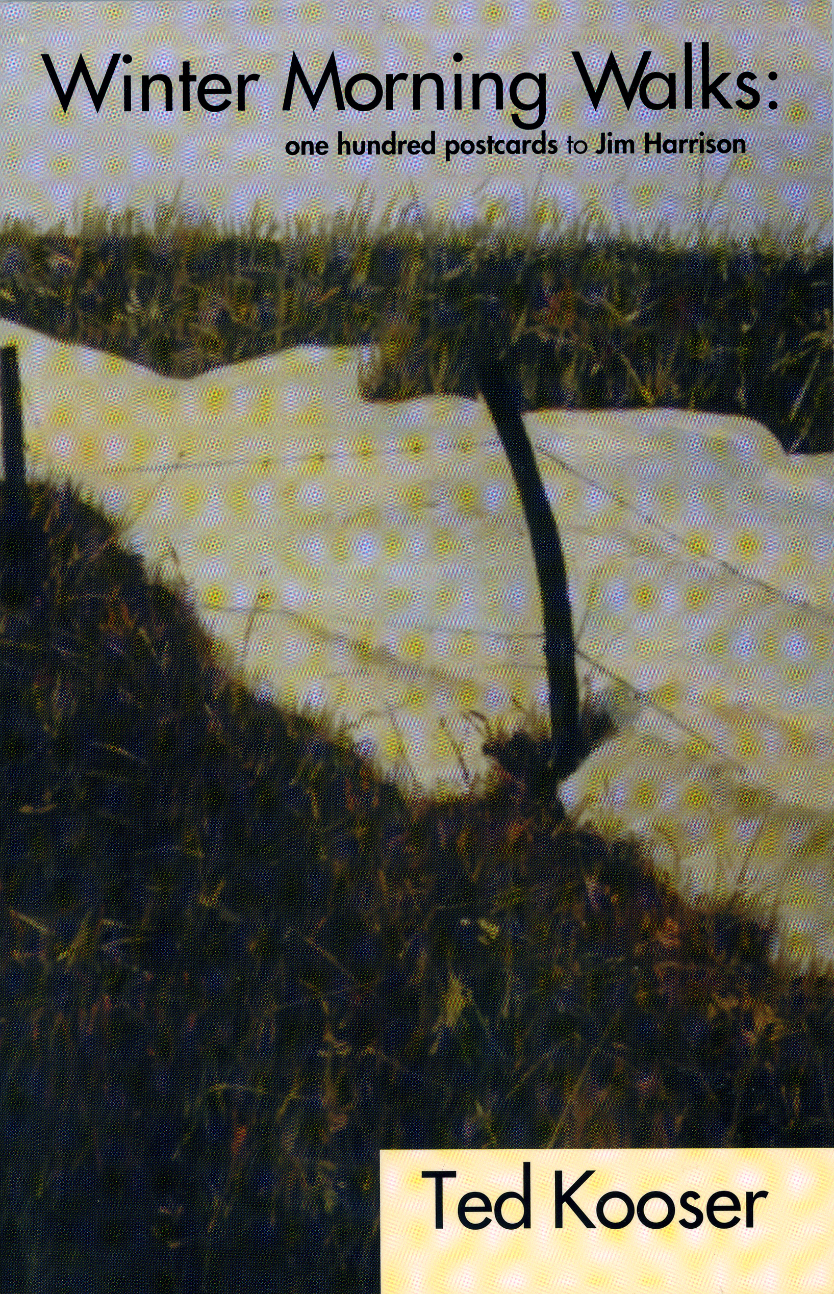 Winter Mornin Walks by Ted Kooser