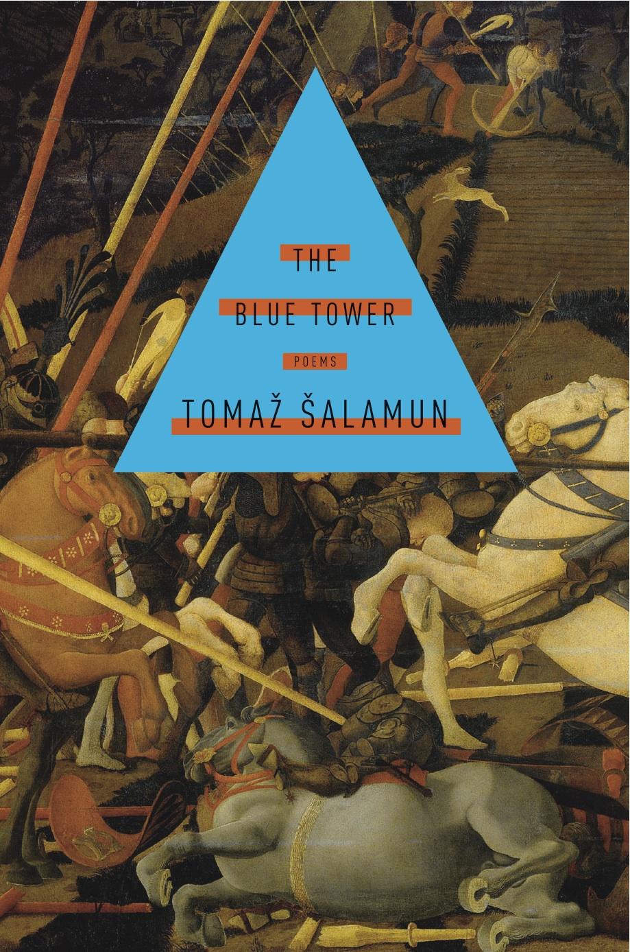 The Blue Tower by Tomaž Åalamun