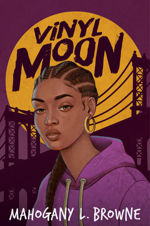 """Book Cover Image of """"Vinyl Moon"""""""