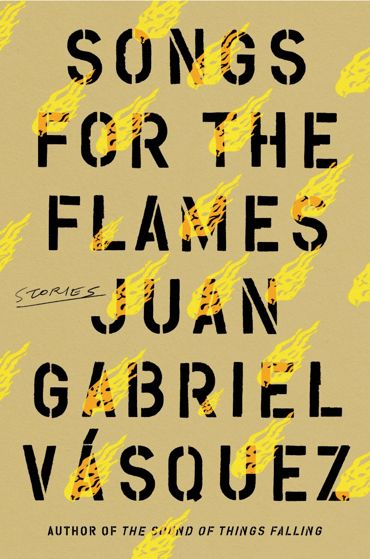 """Book Cover Image of """"Songs for the Flames"""""""