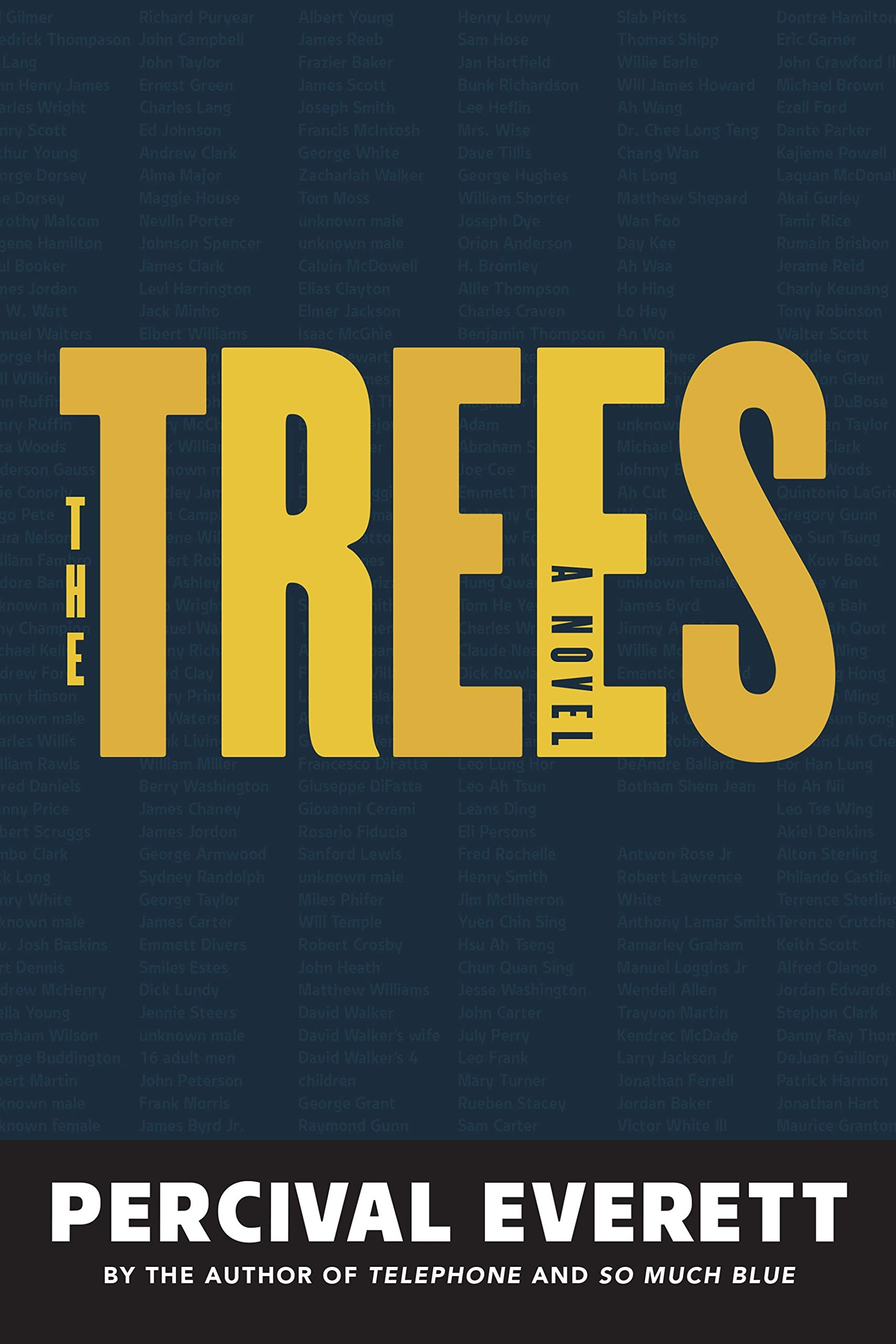 """Book Cover Image of """"The Trees"""""""