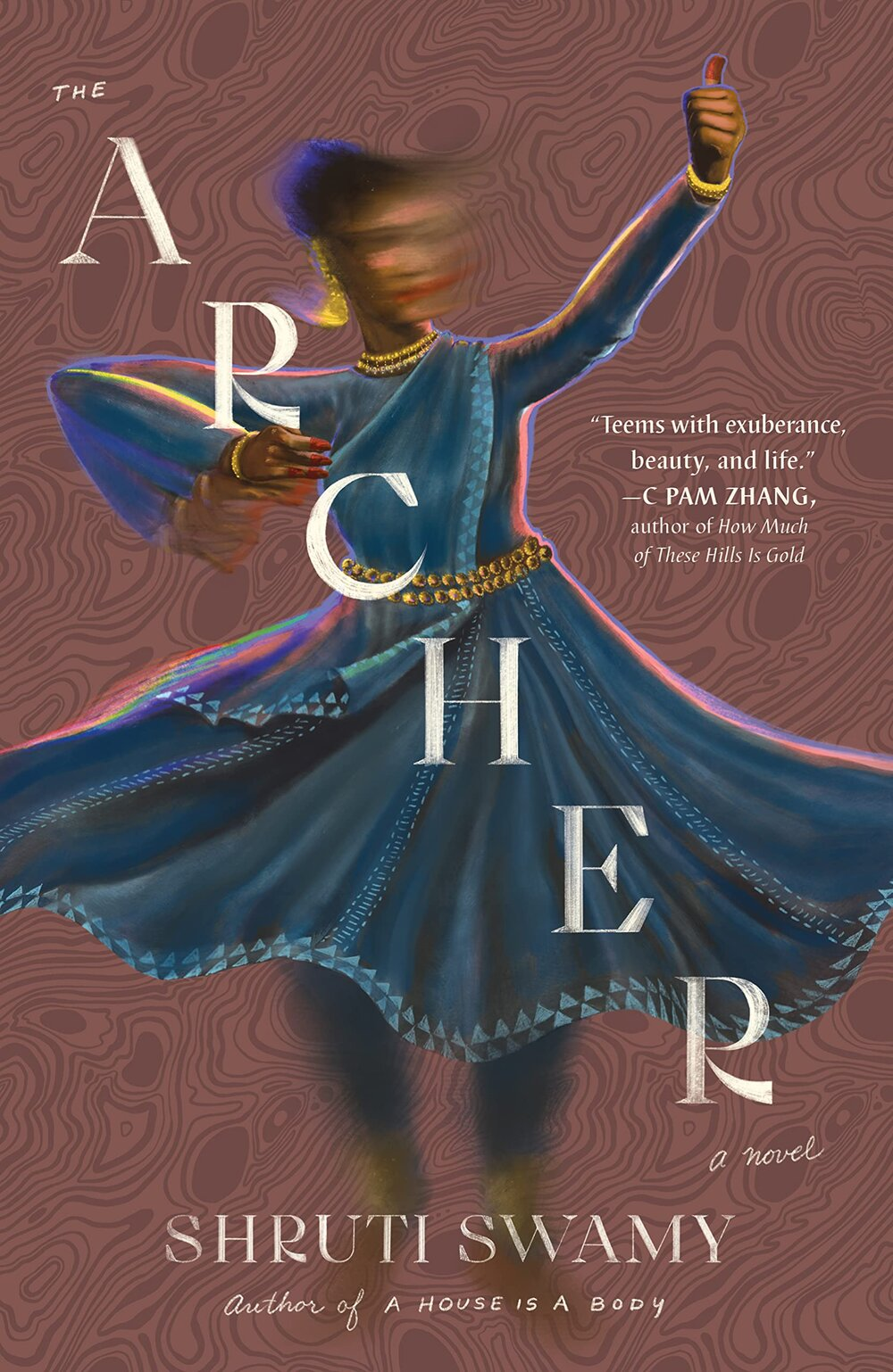 """Book Cover Image of """"The Archer"""""""