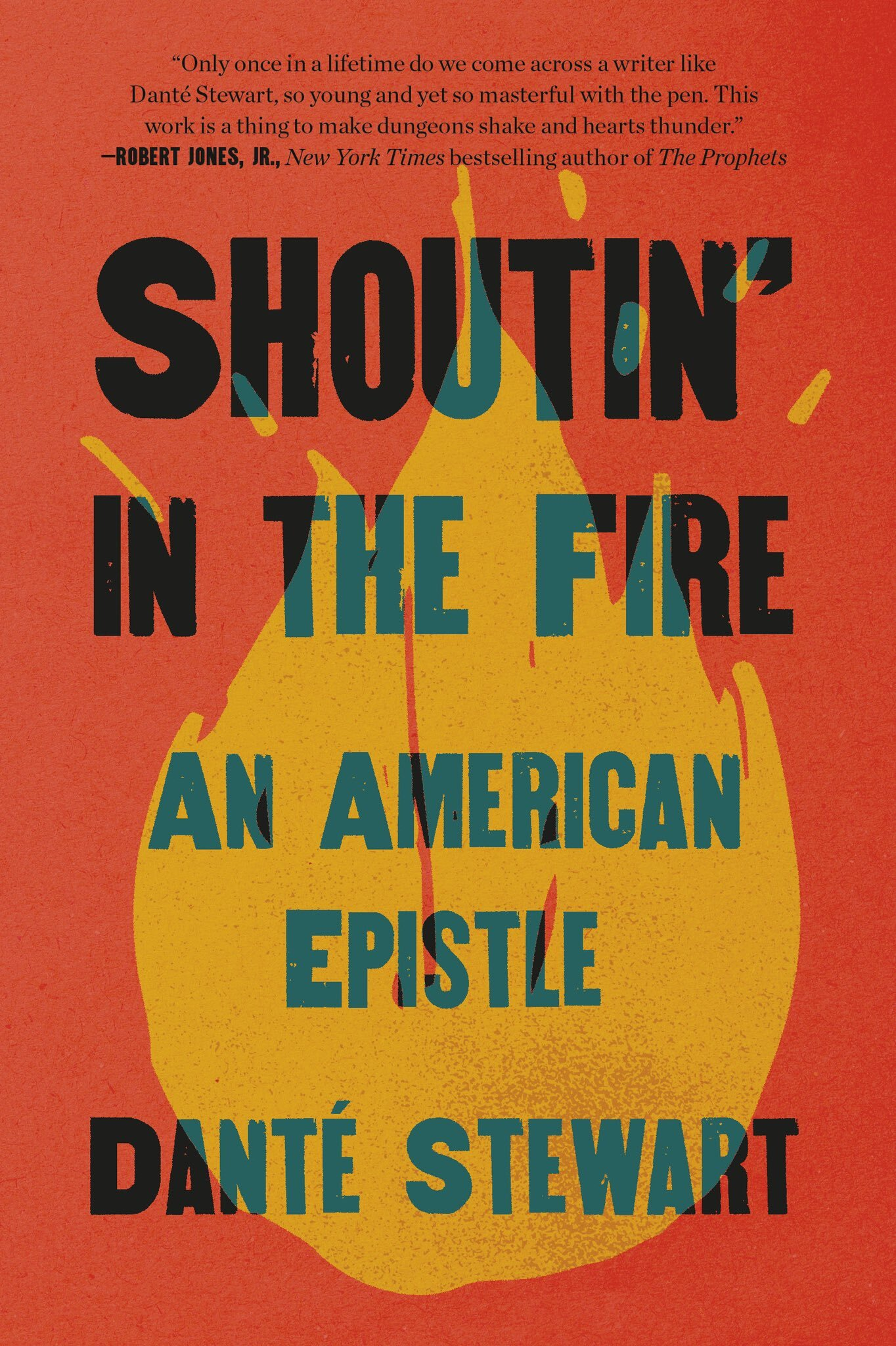 """Book Cover Image of """"Shoutin' In The Fire"""""""